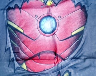 Ironman, costumer, chest, arc reactor cushion, character, pillow, cover only