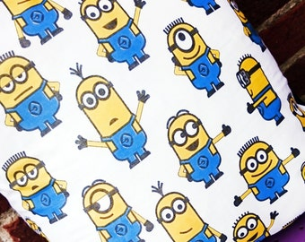 Minions despicable me cotton character cushion cover pillow case cushion