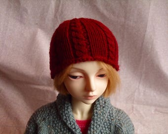 SD BJD Cabled Knit Beanie