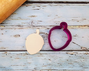Acorn Cookie Cutter and Fondant Cutter and Clay Cutter