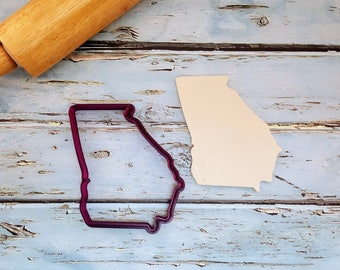 State of Georgia Cookie Cutter and Fondant Cutter and Clay Cutter