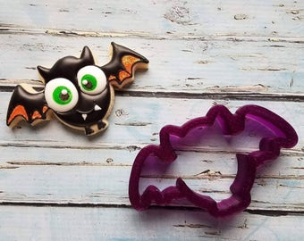 Bat or Halloween Bat Cookie Cutter or Fondant Cutter and Clay Cutter