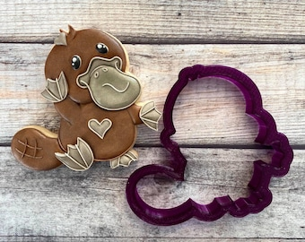Platypus Cookie Cutter or Fondant Cutter and Clay Cutter