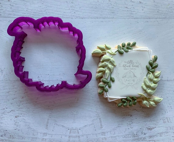 Plaque Cookies The Harper Plaque Cookie Cutter Fast Shipping!! Plaque Cookie Cutter