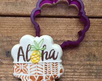 Tara Plaque Cookie Cutter and Fondant Cutter and Clay Cutter