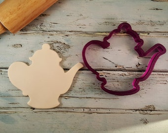 Tea Pot or Coffee Pot Cookie Cutter and Fondant Cutter and Clay Cutter