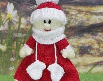 Christmas Eve Knitting Pattern KBP-234