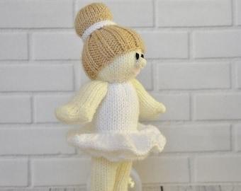 Ballerina Doll Knitting Pattern KBP-238