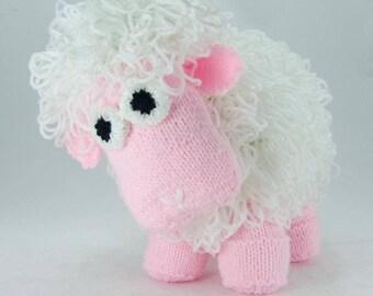 Curly the Sheep Knitting Pattern KBP-035