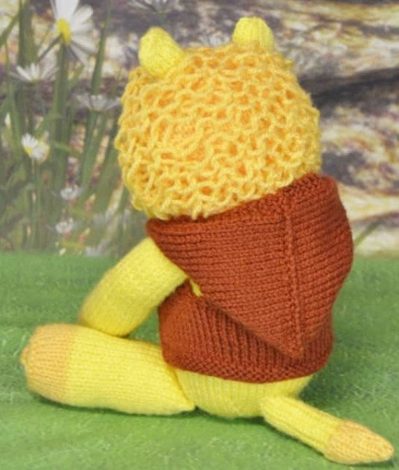 La Laa Lion Knitting Pattern Kbp 237 From Myfavouritecrafts On Etsy