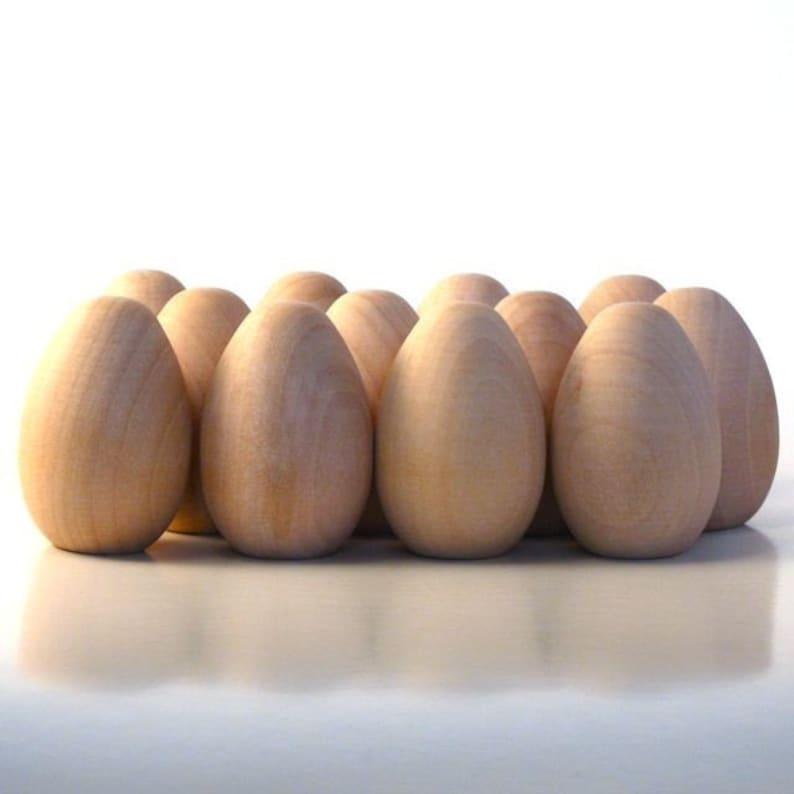 Decorate it Yourself Medium 200 Wooden Eggs
