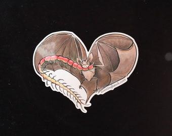 Bat Love Sticker
