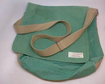 efaeff3119 Vintage Messenger Bag - Canvas Messenger Bag - Gap Messenger Bag
