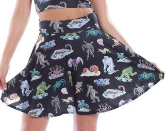 Cryptids Skater Skirt