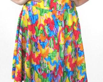 Drippy Frosting Skater Skirt