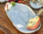 Stoneware cheese tray
