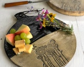 Flowers Cheese tray