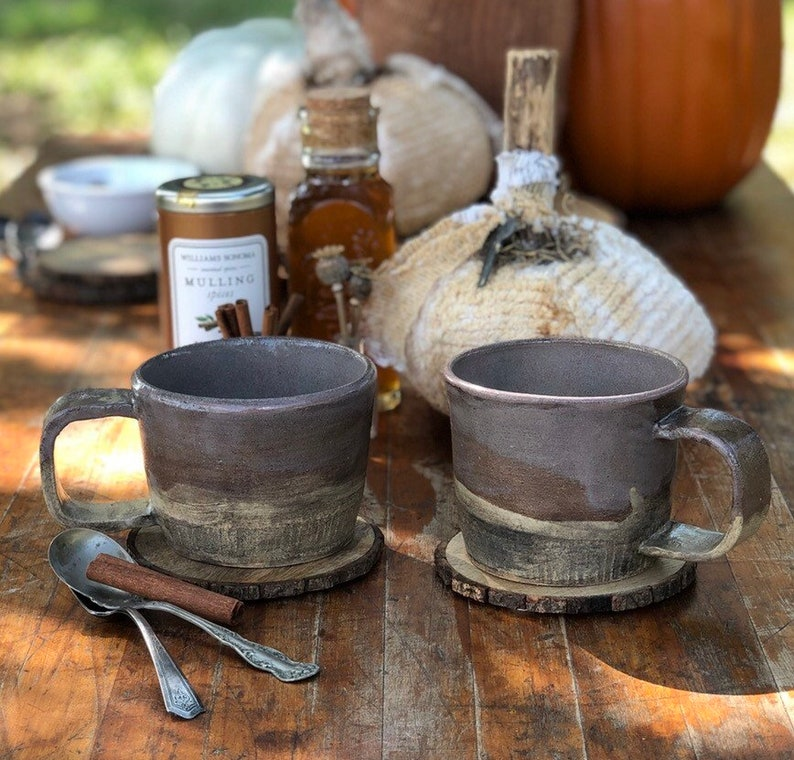 Stoneware mugs image 0