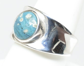 Leland Blue Ring - Sterling Silver - Size 9