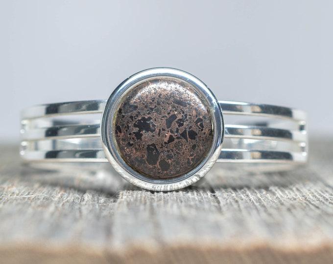 Copper Firebrick Bracelet - Silver (Plated)