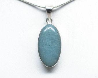 Leland Blue Pendant - Sterling Silver - 25mm x 13mm