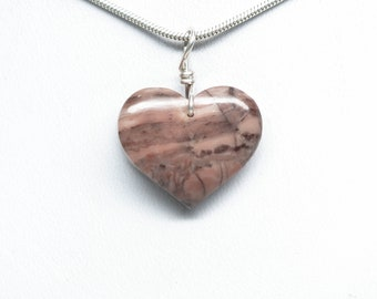 Kona Dolomite Heart Pendant