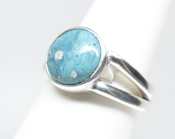 Leland Blue Ring - Sterling Silver - Size 7