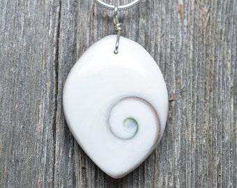 Shiva Shell Pendant - Oval