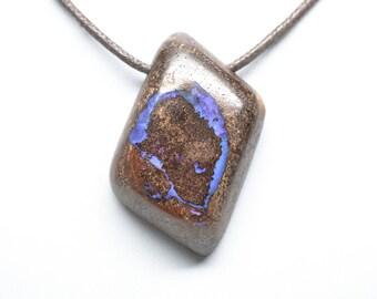 Koroit Boulder Opal Pendant