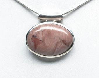 Fancy Kona Dolomite Pendant - Sterling Silver