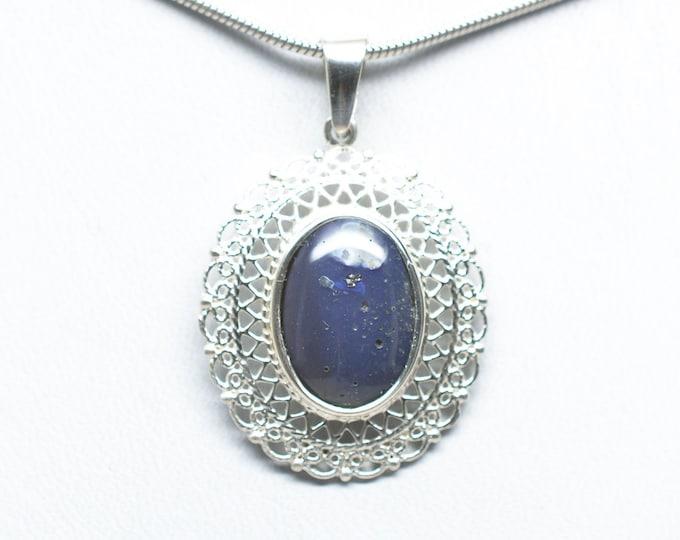 Leland Blue Pendant - Sterling Silver