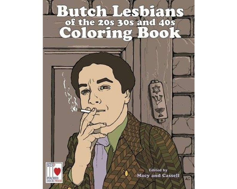 The Butch Lesbians of the 20s 30s and 40s Coloring Book  image 0