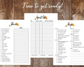 2019 Thanksgiving Planner Printable Holiday Planner Menu Planner Holiday Kit