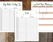Thanksgiving Planner Printable Holiday Planner with free Black Friday Planner