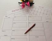 The Simple Life Blog Planner Printable Digital Planner