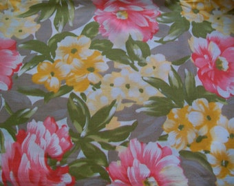 Fabric Destash -  Spring/Summer Floral Fabric by John Kaldor Fabricmaker