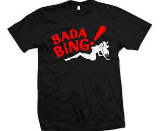Bada Bing Club T-shirt inspired by The Sopranos ( S - 5XL )