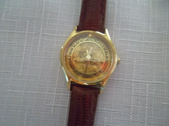 Vintage Gold Face 25 Years of Service Watch