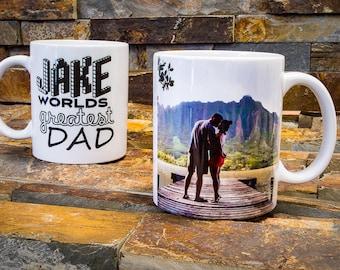 Girlfriend Gift, Coffee Mug, Personalized Mug, Custom Photo Mug, Gift for Mom, Gift for Her, Gift for Wife, Create Your Mug, Boyfriend Gift