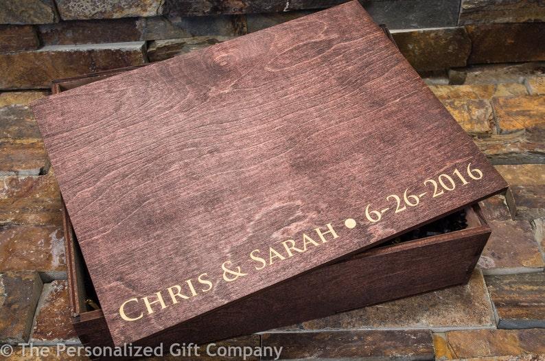 Groomsmen Gift Box Keepsake Box Personalized Cigar Box Custom Wooden Gift Box Memory Boxes Boyfriend Gift Box Husband Gift Groomsman