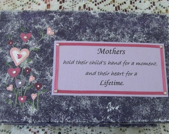 Gift for Mother, Custom Treasure Box for Mother,  Wooden Trinket Box, Prayer Box, Jewelry Box