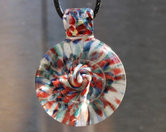 trippy glass pendant heady glass pendant necklace gift for her gift for him - Heady Glass Pendants