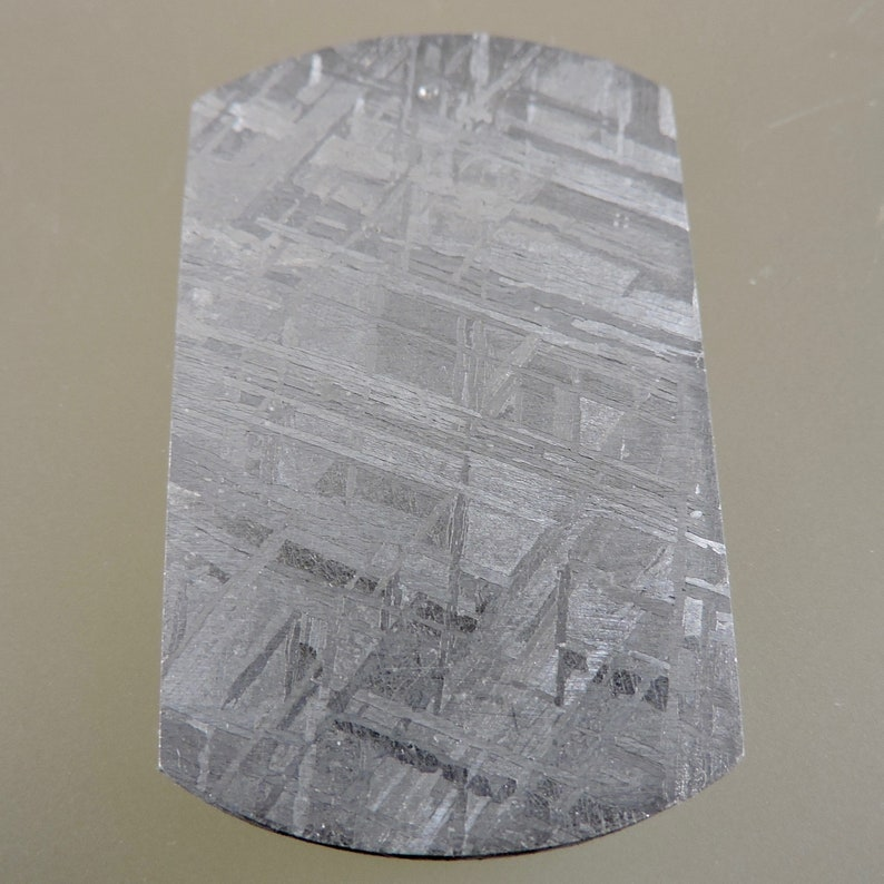 RESERVED for PAMELA Meteorite Cabochon Meteorite Sliced and image 0