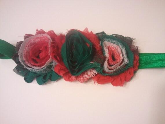 flower Christmas headband