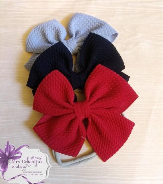 boutique bow, head wrap, turban, baby turban