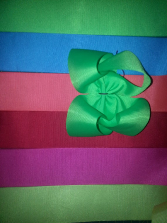 3 yards of 2 1/4 inch ribbon you choose the color