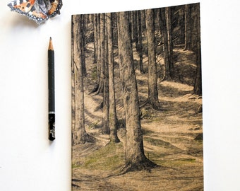 Sketchbook/Jotter - Tall Trees