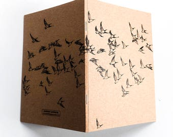 Sketchbook/Jotter - Flying Geese