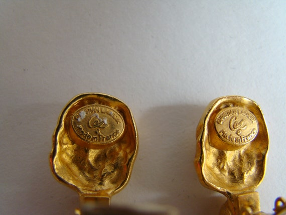 Christian Lacroix earrings - image 7