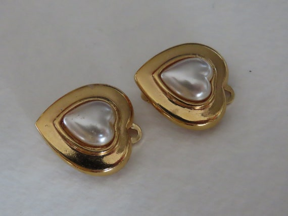 Ted Lapidus earrings average condition